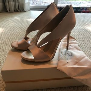 Vince Camuto Soft Gold Satin Pumps - BRAND NEW